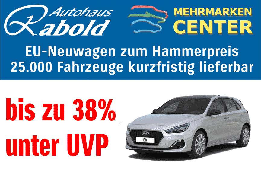 EU-Neuwagen zum Hammerpreis