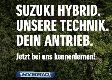 Suzuki Hybrid. Unsere Technik. Dein Antrieb. Jetzt Testen im Autohaus Rabold